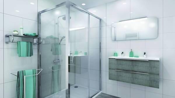 amenagement salle-de-bains remplacement baignoire cabine-douche Vienne Estrablin