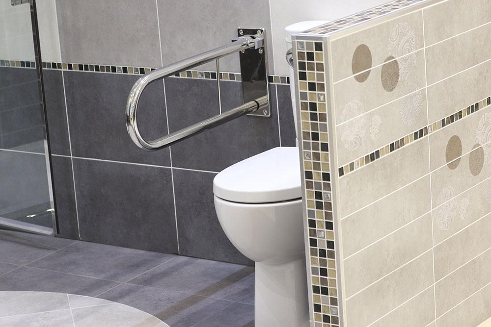 salle de bains PMR Estrablin Vienne Isère