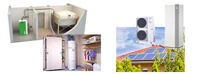 Chauffage énergies renouvelables Estrablin Vienne